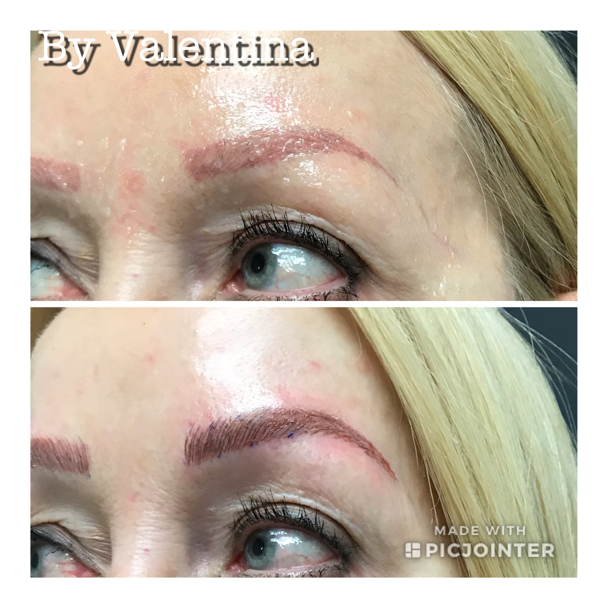 Microblading technique 2