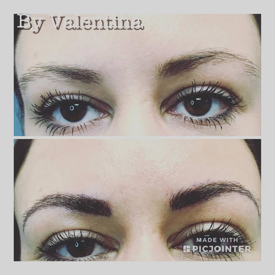 Microblading- Filling in the Eyebrows